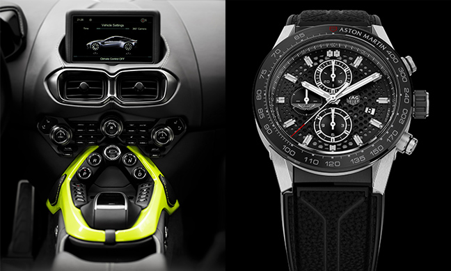 TAG Heuer Éditions Spéciales Aston Martin