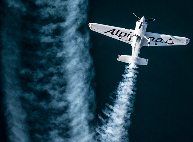 Michael Goulian - Alpina - Red Bull Air Race