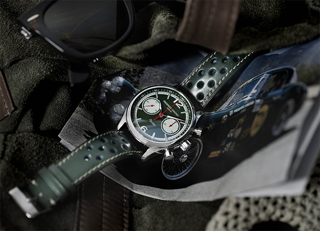 Vintage Rally Healey Chronographe Automatique