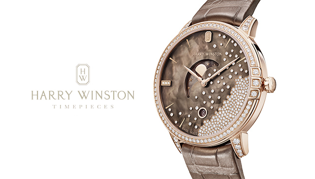 Harry Winston Midnight Chocolate Diamond Drops