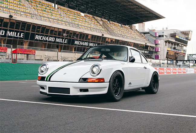 Paul Stephens Le Mans Classic Clubsport