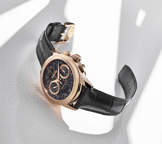 Ateliers deMonaco Admiral Chronographe Flyback Prato or rose