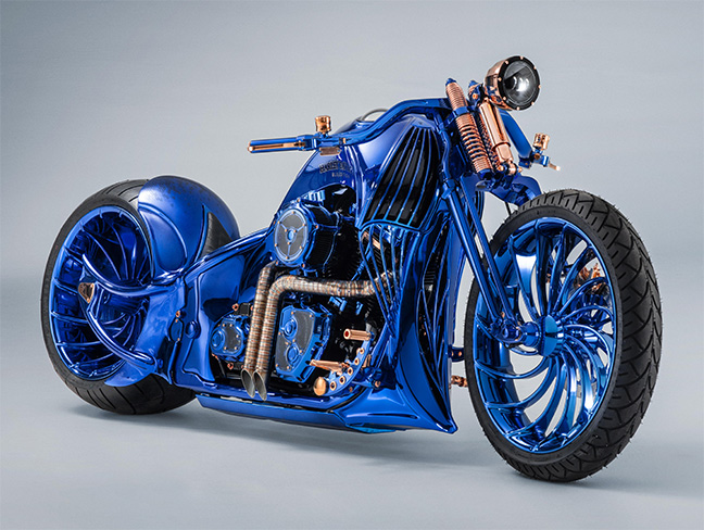 Bucherer - Harley-Davidson Blue Edition