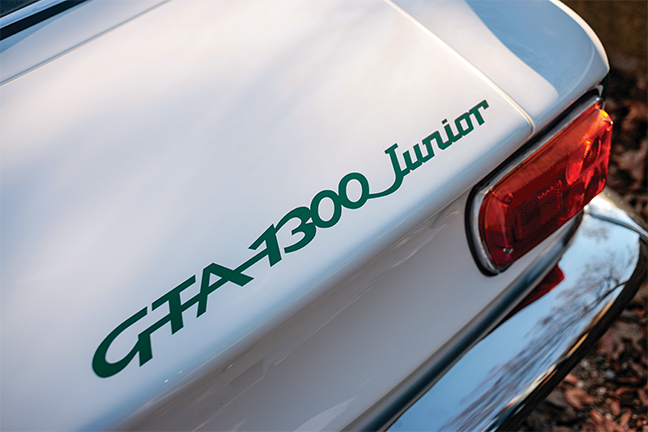 Alfa Romeo GTA 1300 Junior Stradale