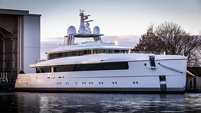 Vitruvius Yachts M/Y Najiba