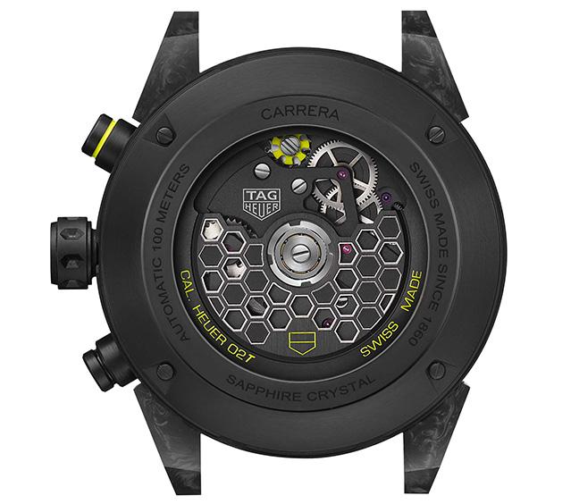 TAG Heuer - Carrera Calibre Heuer 02T Tourbillon Nanograph