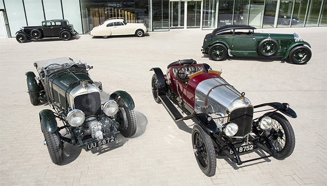 Bentley - Rétromobile 2019