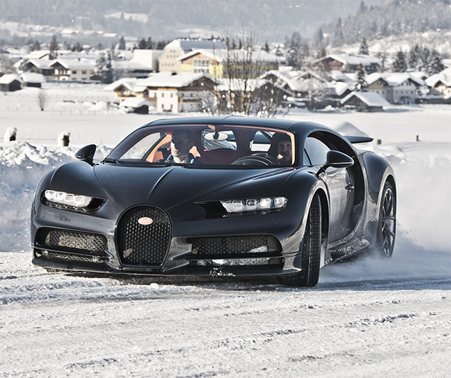 Hermann Maier - Bugatti Chiron