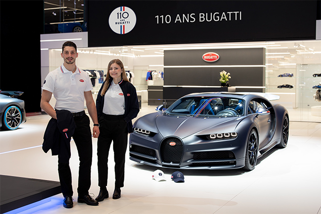 Collection 110 ans Bugatti