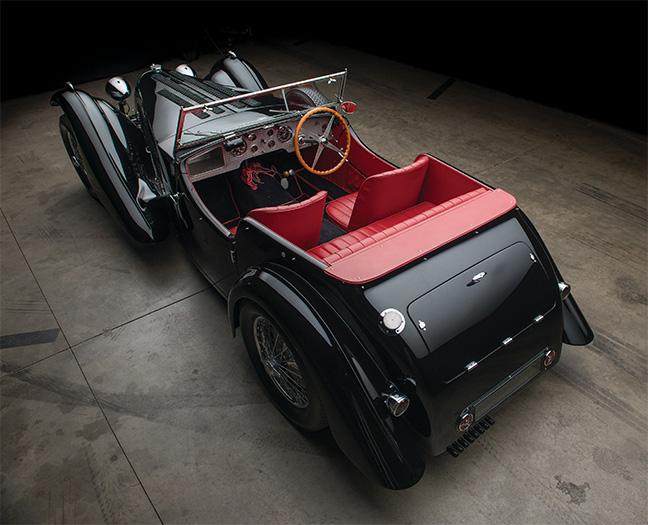 Bugatti Type 57 SC Tourer by Corsica 1937
