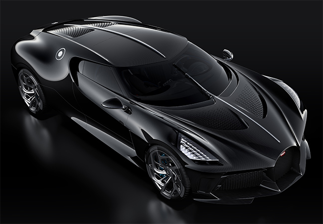 Bugatti - La Voiture Noire