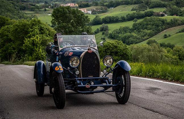 Bugatti à la Mille Miglia 2019