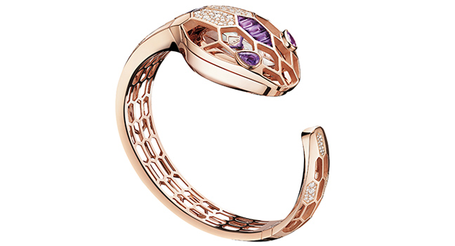 Bvlgari Collection Capsule Serpenti Amethyst