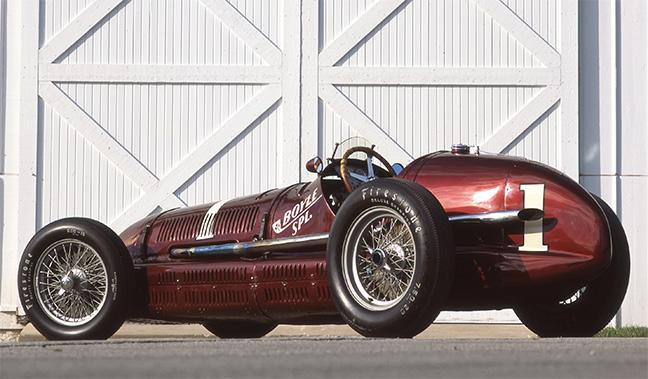 Maserati 8CTF Boyle Racing
