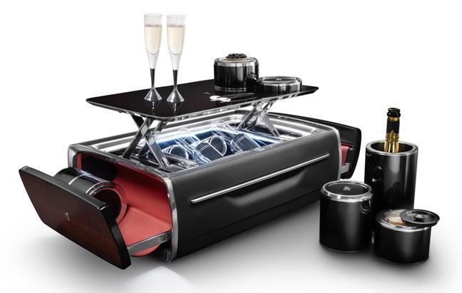 coffre à champagne de Rolls-Royce