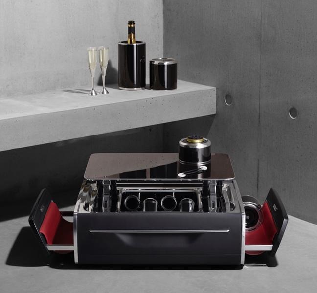 Coffre à champagne Rolls-Royce