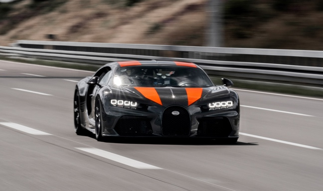 Bugatti 300 Mph