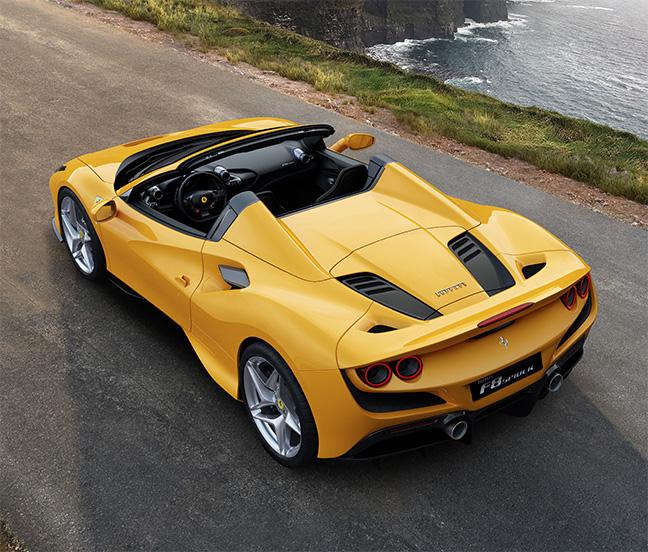 Errari F8 Spider: The 7 Exclusive Journal Ferrari F8 Spider : Bellissima