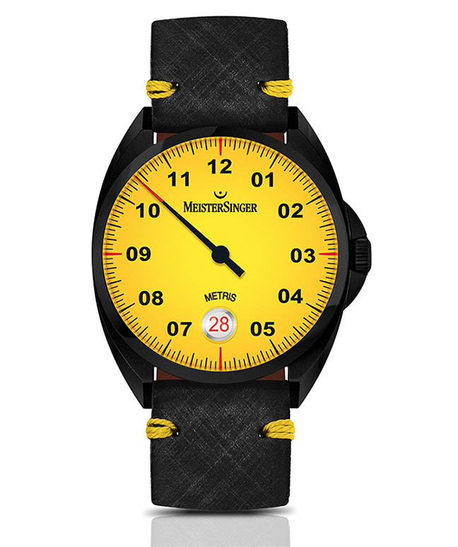 Metris Black Mellow Yellow