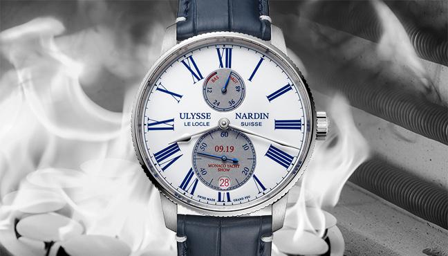 Ulysse Nardin Marine Torpilleur Monaco Yacht Show Limited Edition