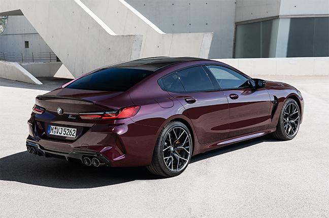 BMW M8 Compétition Gran Coupé