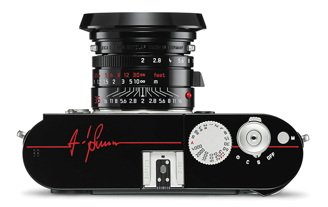 Leica M Monochrom Signature by Andy Summers