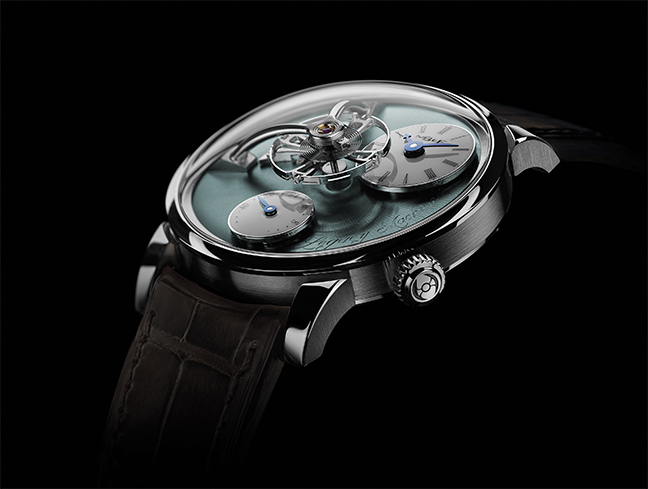 MB&F Legacy Machine 101 édition Palladium