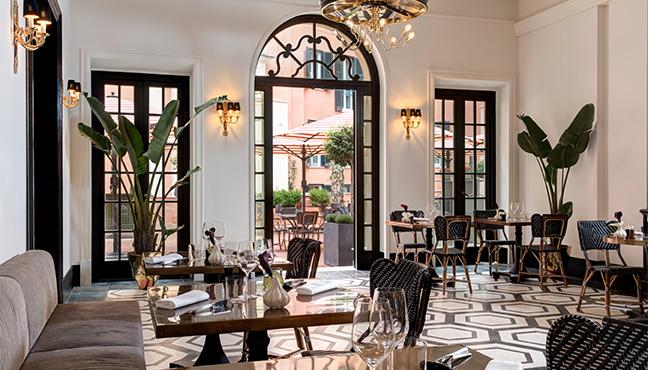 Restaurant Mosaico - Rome