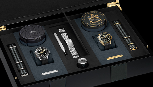 Coffret Omega Seamaster Diver 300M James Bond
