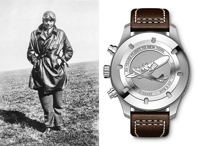 IWC Schaffhausen Timezoner Chronograph Edition 80 Years Flight to New York