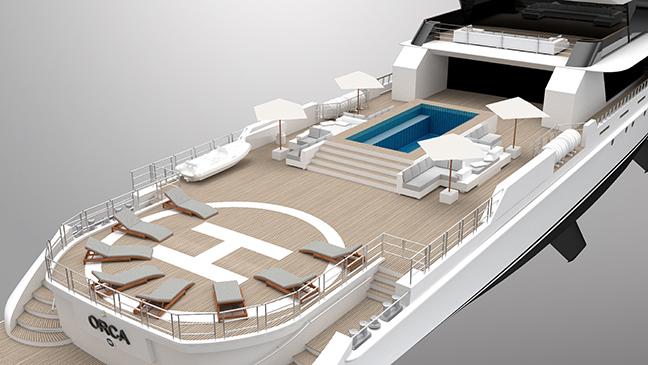Rosetti Superyachts Orca