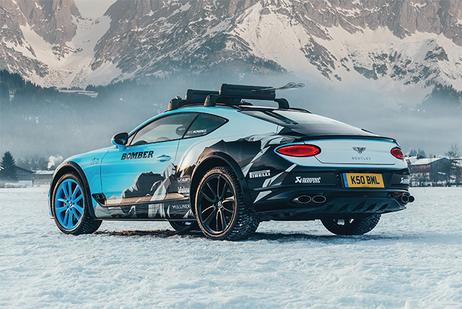 Continental GT Ice Race 2020