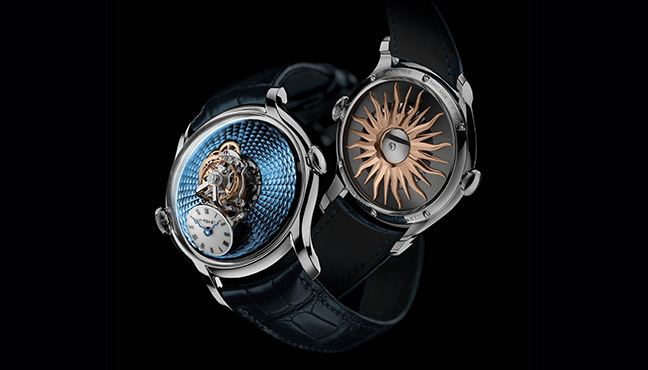 MB&F Legacy Machine FlyingT Red Gold et Platinum