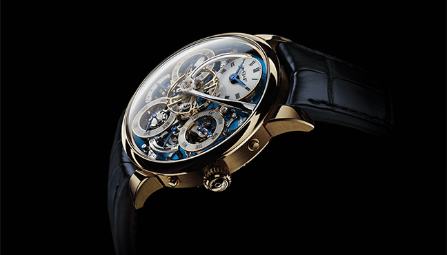 MB&F Legacy Machine Perpetual Yellow Gold