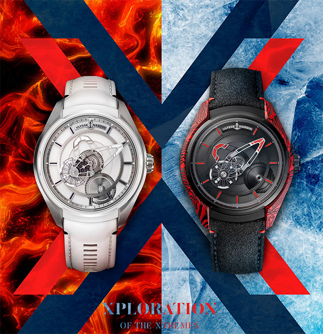 Ulysse Nardin Freak X Ice & Fire
