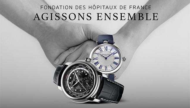 Frédérique Constant - Fondation des Hôpitaux de France
