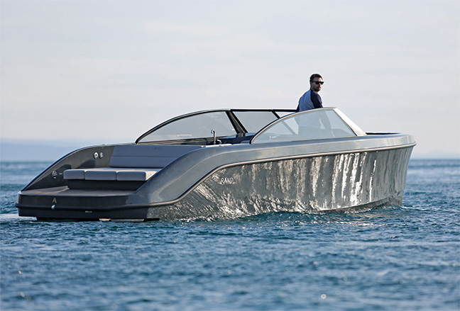 Rand Boats Leisure 28 Electric