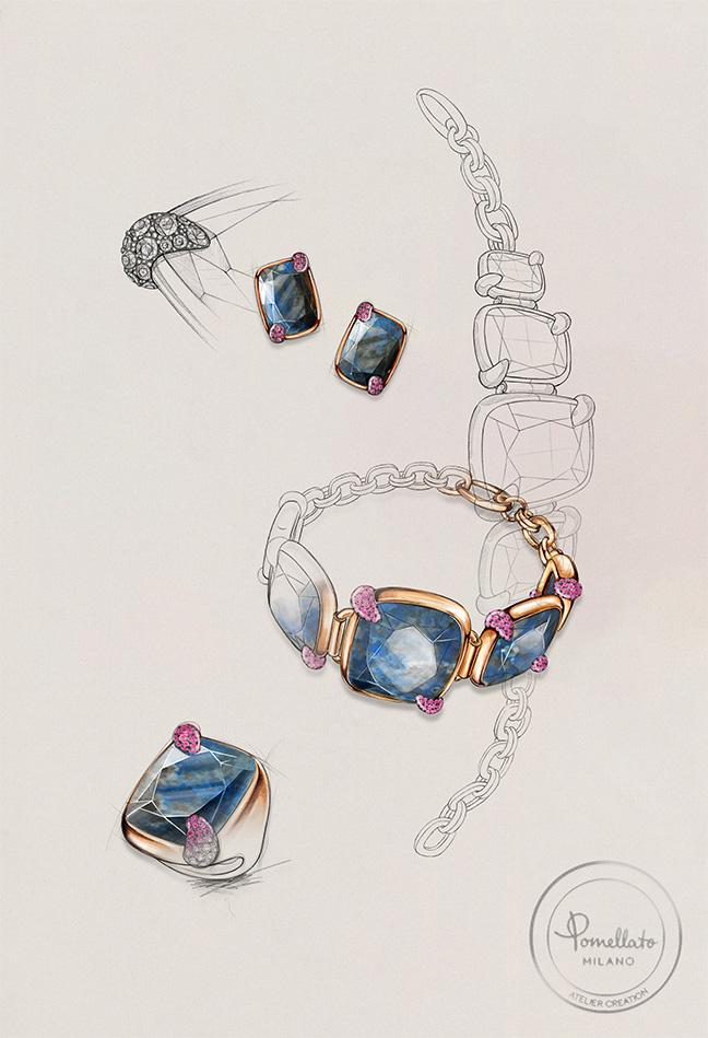 Pomellato Denim Lapis-Lazuli