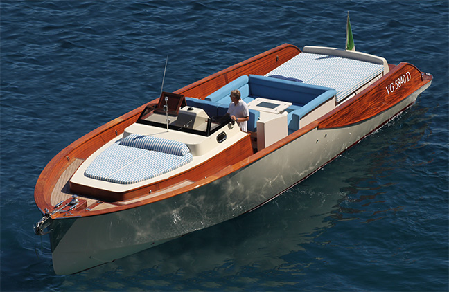 Wooden Boats WB40' Classic