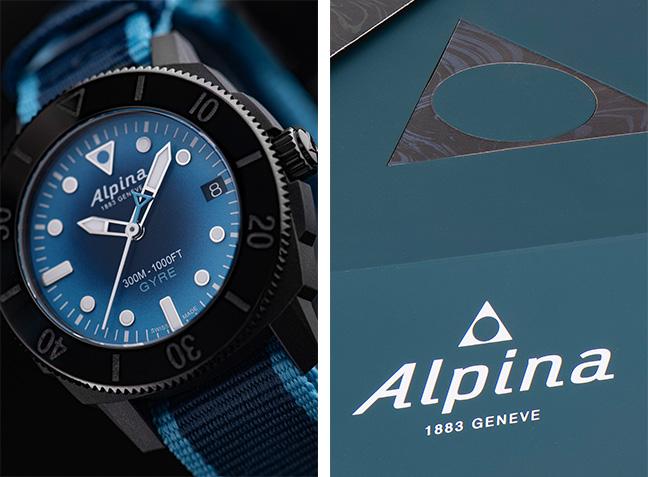 Alpina Seastrong Diver Gyre Automatique