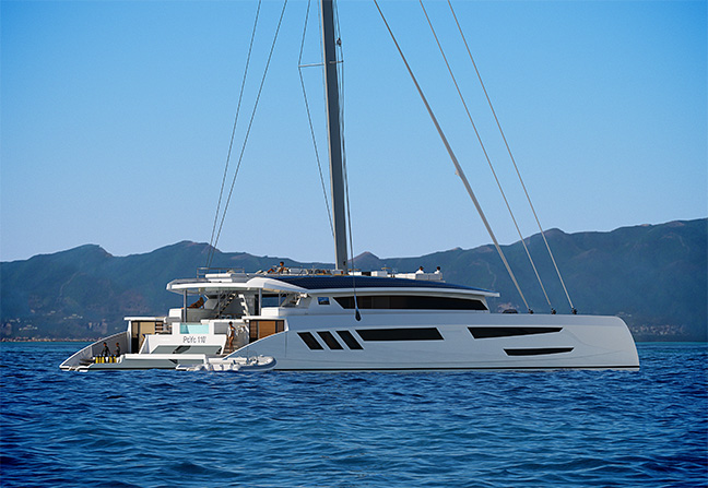 Pajot Custom Yachts Catamaran 110