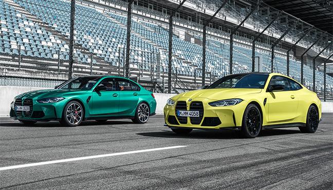 BMW M3 et M4 Compétition