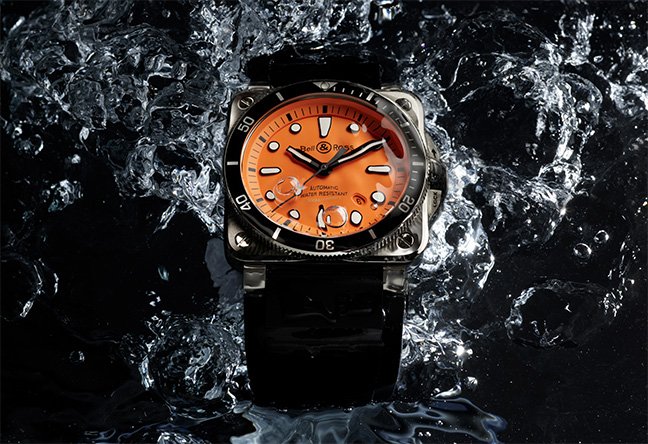Bell & Ross BR 03-92 Diver Orange