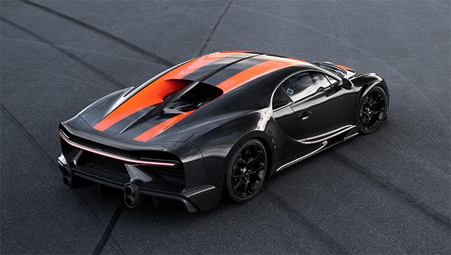 Carbon Bugatti EB.02 Chiron 300+