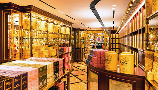 TWG Tea - Ritz Paris