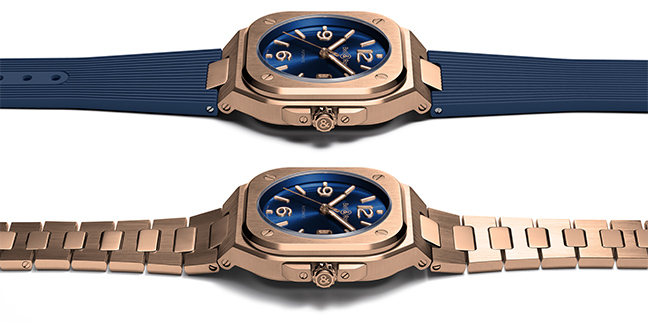 Bell & Ross BR05 Blue Gold