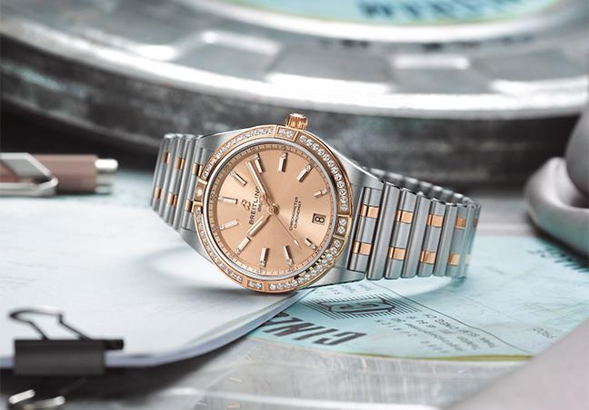 Breitling Chronomat 36 et 32 mm