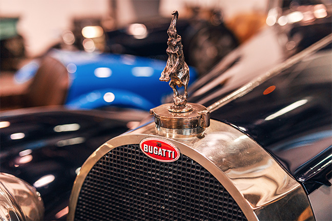 Le macaron de Bugatti