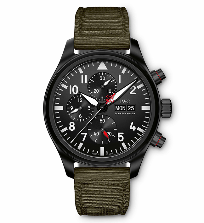 IWC Schaffhausen Chronographe Top Gun Édition SFTI