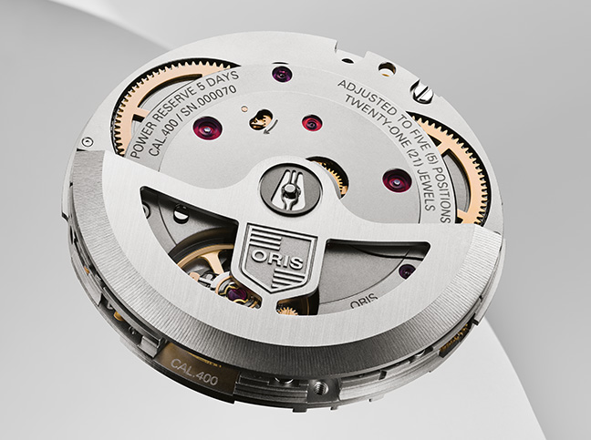 Oris mouvement Calibre 400